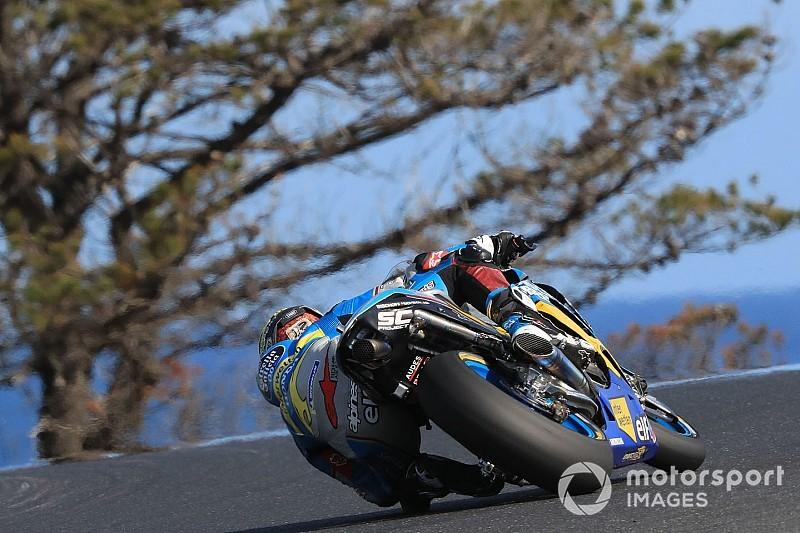 Diaporama : Thomas Lüthi dans le Grand Prix d'Australie