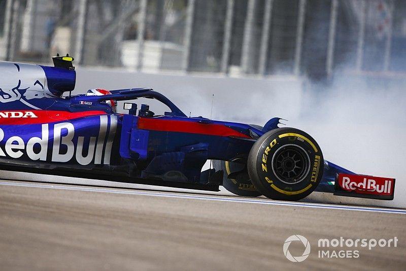 Toro Rosso explicó la falla de su doble abandono en Rusia