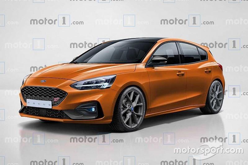 Новий Ford Focus ST «засвітився» на рендері Motor1