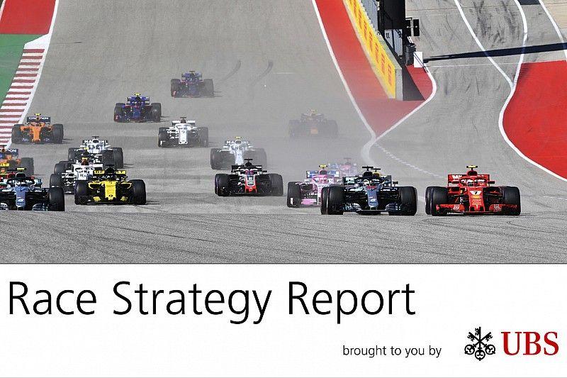 La estrategia del GP de EE UU: los errores de Mercedes facilitan la vida a Ferrari