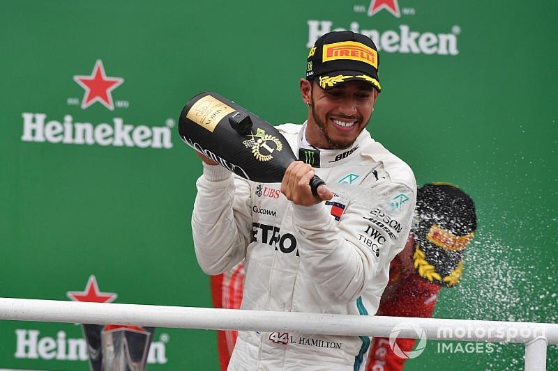 """Hamilton: """"Fortunato? Assolutamente no! Se gli altri sbagliano è un problema loro!"""""""