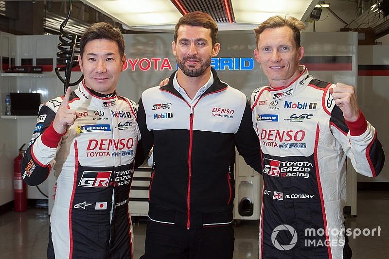 Kobayashi, Conway e Lopez centrano la pole a Shanghai, la Toyota monopolizza ancora la prima fila