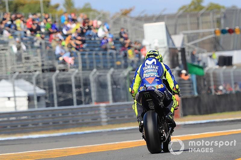 """Rossi: """"A Suzuki jobb munkát végzett a Yamahánál"""""""
