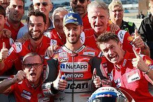 "Polesitter Dovizioso: ""Ik rijd alleen nog om te winnen"""