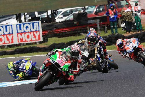Положение в зачете MotoGP после Гран При Австралии
