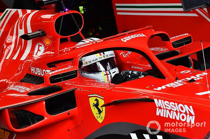 """Vettel sous enquête pour avoir """"détruit"""" l'outil de pesage"""