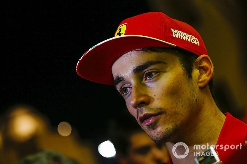 Leclerc nem érez nyomást a Ferrari és Vettel miatt