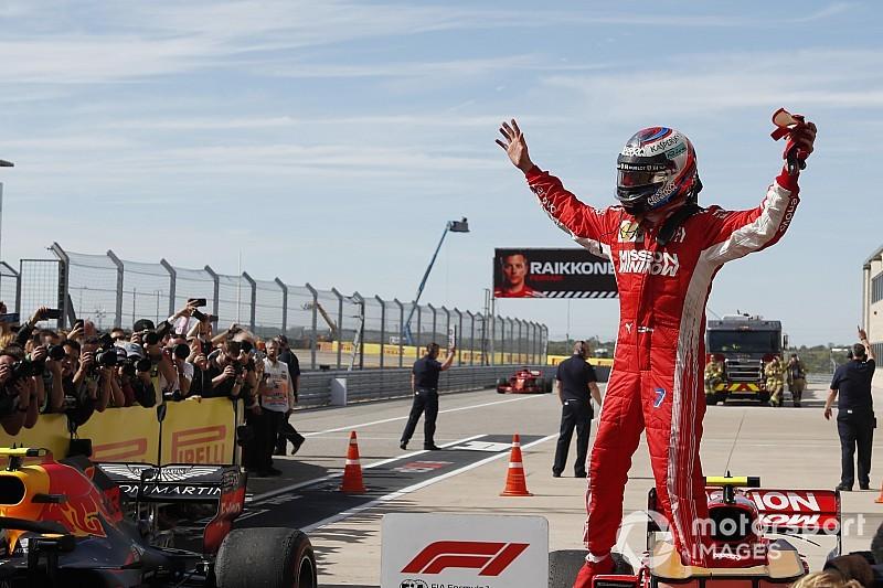 Райкконен выиграл гонку в Остине, борьба за титул продолжится в Мексике