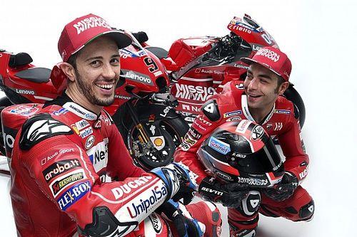 Dall'Igna compara la dupla Dovizioso-Petrucci con la de Márquez y Pedrosa