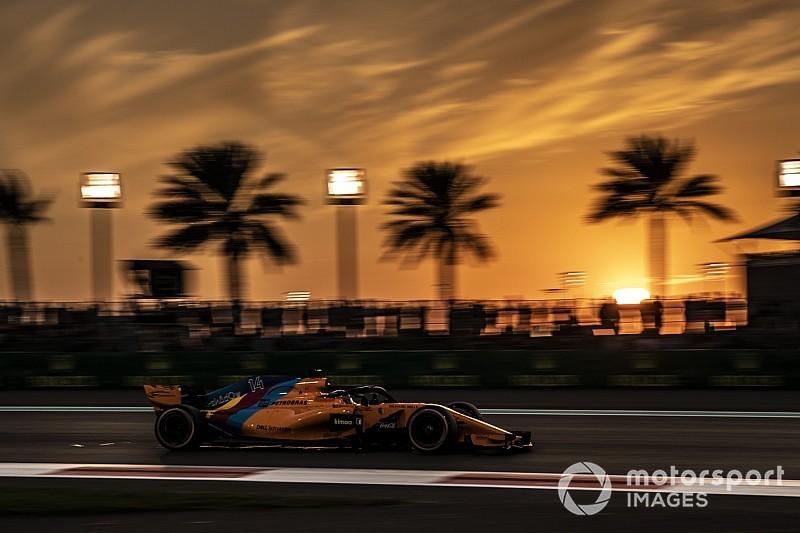El atardecer mágico de Abu Dhabi... y el de la F1 2018