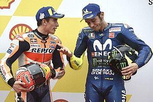 How Marquez is usurping Rossi's 'GOAT' status
