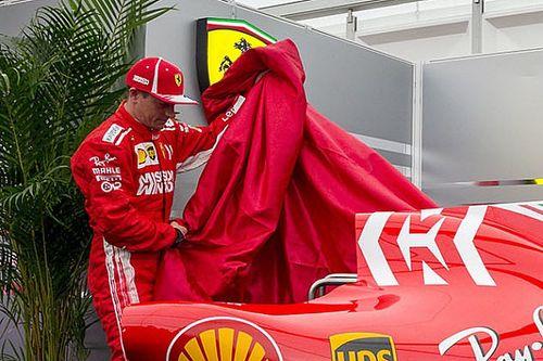 Raikkonen: Ferrari pode ser competitiva, espero que não chova