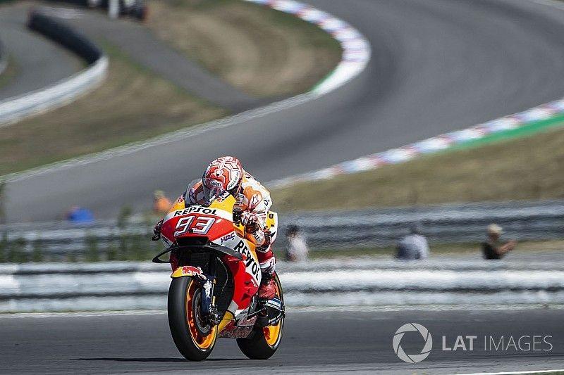 Marquez: Von Platz drei in Brünn mit gutem Gefühl ins 100. Rennen