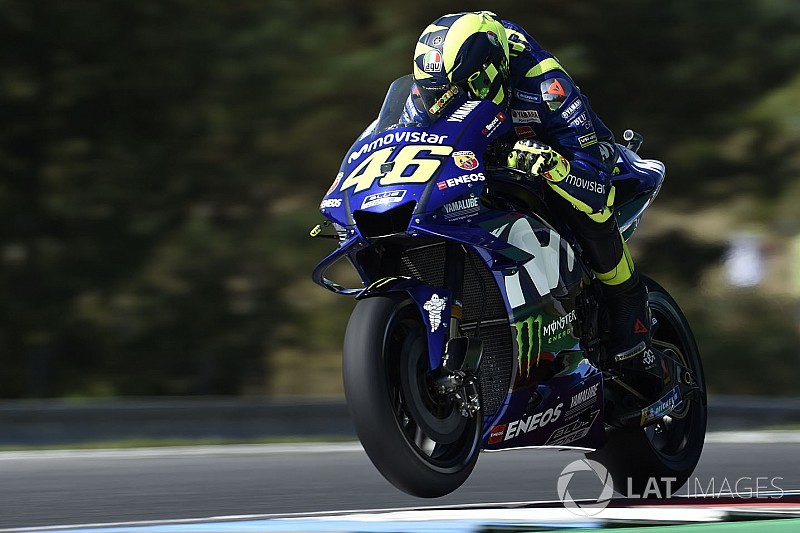 Rossi admits he's lacking race pace at Brno