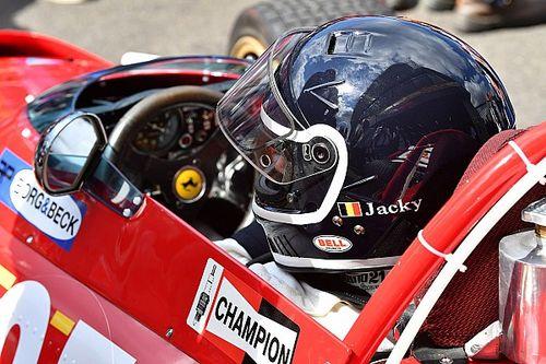 Jacky Ickx egy legendás Ferrarit vitt pályára a Belga Nagydíjon