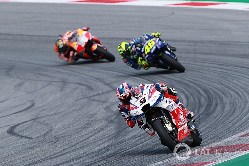 "Petrucci: Last 10 laps in Austria were a ""nightmare"""