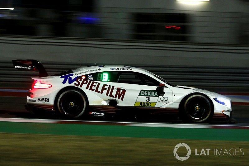 Misano DTM: Di Resta dominates wet qualifying