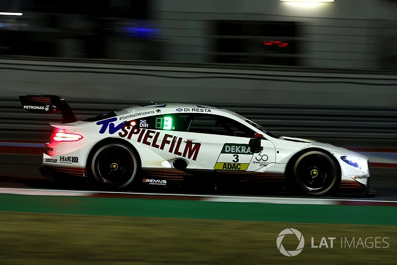 Misano DTM: Di Resta dominates wet qualifying