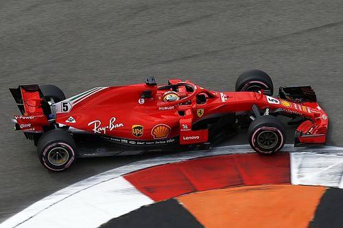 Vettel bovenaan in eerste training Rusland, tweede tijd Verstappen