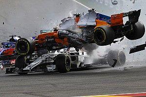 В Sauber подвели итоги анализа Halo с машины Леклера после стартовой аварии в Спа