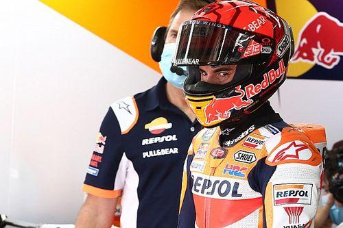 """Marquez: """"Sono arrabbiato per la caduta, controllavo tutto"""""""