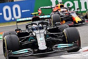 Bottas wint sprintrace in Monza, Verstappen naar eerste startplek
