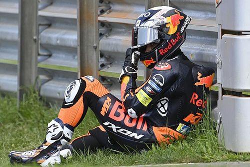 Lourdement tombé, Oliveira a un poignet très douloureux