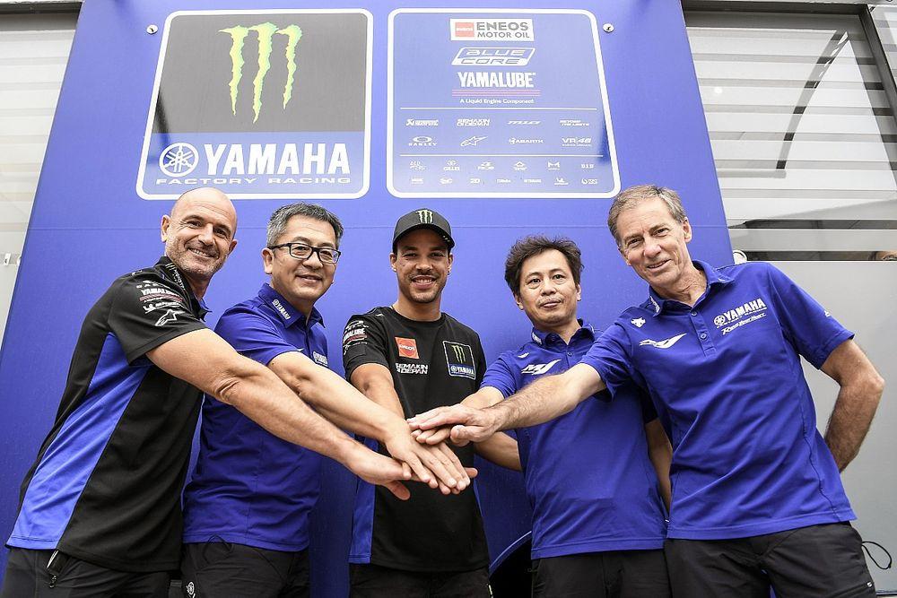 Morbidelli salta al equipo oficial Yamaha y renueva hasta 2023