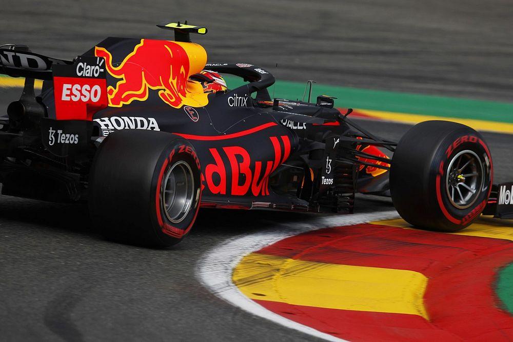 Red Bull сменили крылья и стали быстрее всех на FP3 в Спа