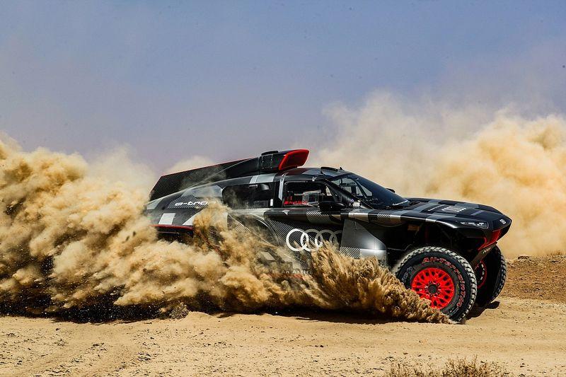 Audi's Dakar prototype completes two-week Morocco test