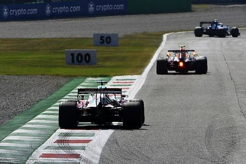 Italian GP's F1 sprint qualifying race as it happened