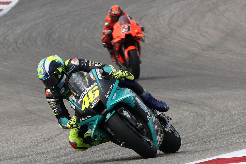 """Rossi : Austin, """"l'une des courses les plus difficiles de ma carrière"""""""