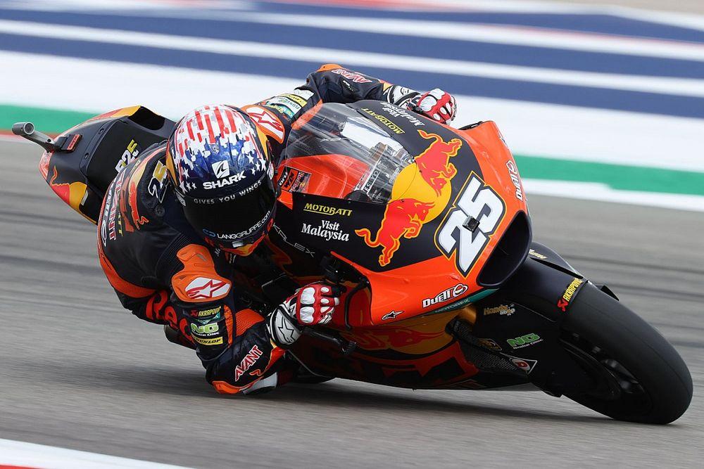 Americas Moto2: Raul Fernandez in control at COTA as Gardner crashes