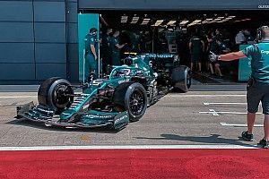 Vettel első élményei a 18 colos kerekekről: egyes kanyarokban még gyorsabb is voltam