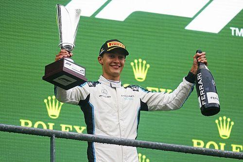 """Eerste F1-podium voor Russell: """"Manier waarop maakt niet uit"""""""