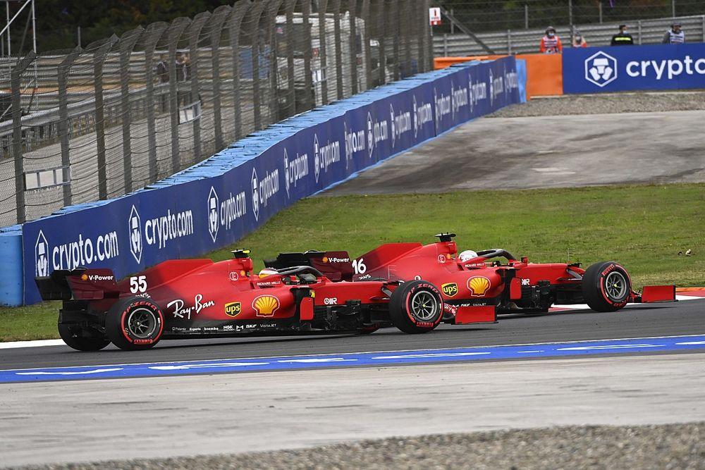 """Leclerc: """"Gracias a Carlos, si no, habría estado complicado"""""""