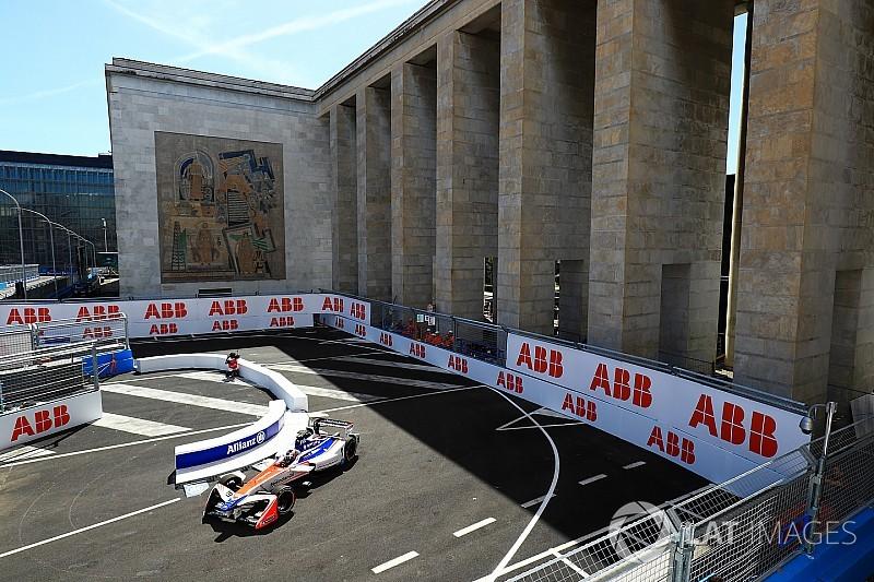La grille de départ de l'E-Prix de Rome