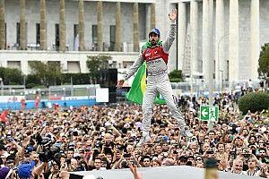 Rosenqvist abandonó y Bird aprovechó para festejar en Roma