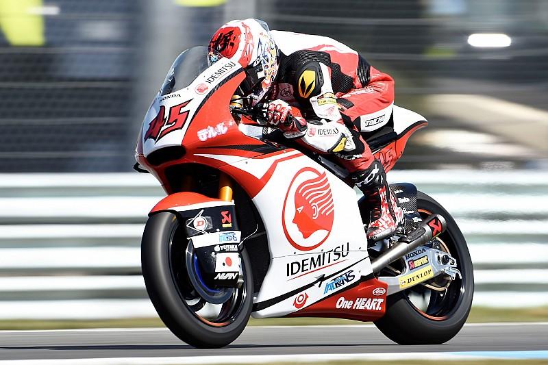 Nagashima uitgeschakeld voor Dutch TT na megacrash