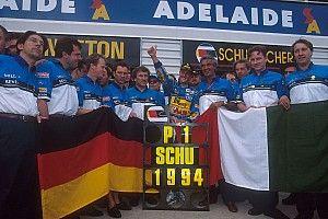 GALERÍA: Michael Schumacher Campeón del Mundo 1994
