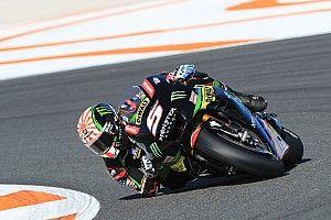 Zarco se sintió a gusto con la Yamaha que Rossi y Viñales padecieron