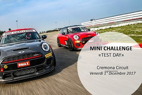 MINI Challenge: test ufficiali per il 2018 a Cremona il primo dicembre