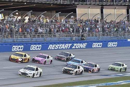 Avoiding the Talladega wrecks gave Ryan Newman a chance at victory