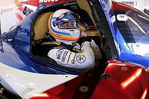 """IMSA Nieuws Alonso """"beetje geschrokken"""" van plotselinge remprobleem"""