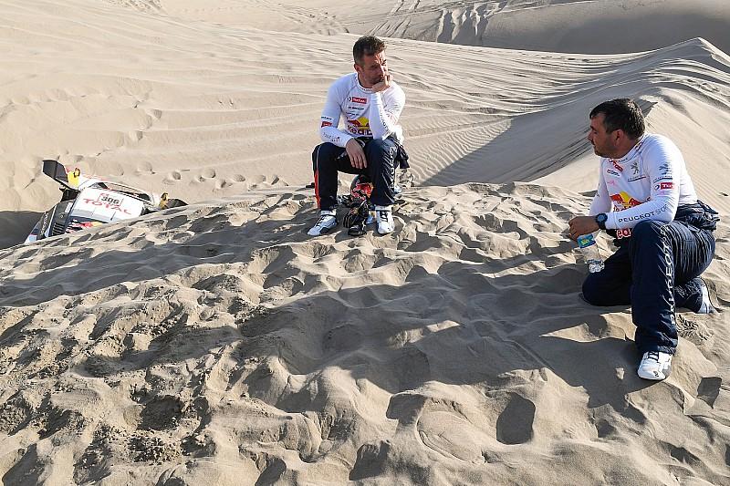 Navegador de Loeb confirma fratura no cóccix