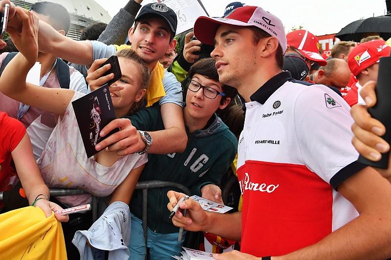 """Leclerc wil jeugdidool Senna achterna: """"Zijn talent was ongelooflijk"""""""