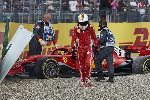 Cuatro errores de Vettel que tienen a Hamilton como líder del campeonato