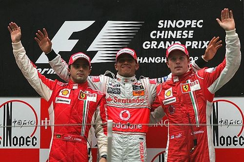 GALERIA: Relembre os últimos vencedores do GP da China