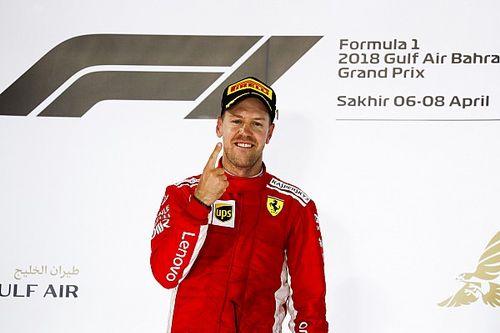 Mondiale Piloti F.1 2018: Vettel comanda a punteggio pieno