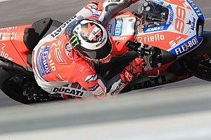 """Lorenzo: """"Las condiciones han acentuado los defectos de la moto"""""""